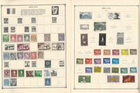 Ireland & Israel Stamp Collection on 24 Scott Album Pages To 1981