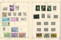 Rwanda Stamp Collection on 24 Scott Album Pages To 1981