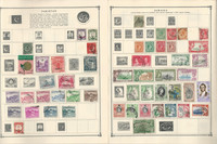 British Colonies Stamp Collection on 30 Scott Album Pages To 1981