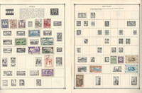 French Colonies Stamp Collection on 16 Scott Album Pages To 1981