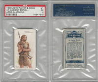 P72-15 Player, Arms & Armour, 1909, #1 Ancient British Warrior, PSA 5 EX