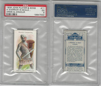P72-15 Player, Arms & Armour, 1909, #11 Warrior in Scale, PSA 5 EX