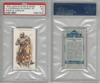P72-15 Player, Arms & Armour, 1909, #12 Horseman Chain-Mail, PSA 5 EX