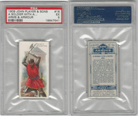 P72-15 Player, Arms & Armour, 1909, #16 Soldier Battle Axe, PSA 5 EX