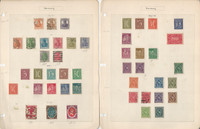 Germany & Area Stamp Collection on 24 Pages, Interesting Lot, DKZ