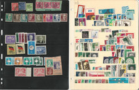 Germany DDR Stamp Collection on 7 Pages, Interesting Lot, DKZ