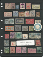 Germany stamp Collection of Old Revenues, Interesting Lot, DKZ