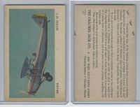 E151 Cracker Jack, Fighting Planes, 1940's, Muniz M7, Brazil