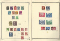 Germany Stamp Collection 1947-48 on 4 Scott Specialty Pages, DKZ