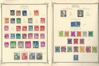 Germany Stamp Collection 1948-52 on 2 Scott Specialty Pages, DKZ