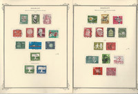 Germany Stamp Collection 1957-75 on 28 Scott Specialty Pages, DKZ