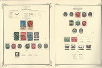 Germany Stamp Collection 1919-30 on 2 Scott Specialty Pages, Semi's, DKZ
