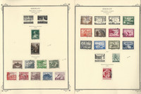 Germany Stamp Collection 1939-42 on 6 Scott Specialty Pages, Semi's, DKZ