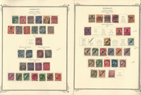 Germany Stamp Collection 1920-42 on 4 Scott Specialty Pages, Officials, DKZ