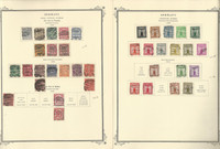 Germany Stamp Collection 1903-42 on 3 Scott Specialty Pages, BOB, DKZ