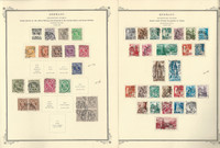 Germany Stamp Collection 1945-72 on 40 Scott Specialty Pages, Occupation, DKZ