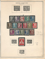 Germany DDR Stamp Collection on Minkus specialty Page, 1948-49, DKZ