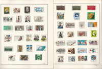 Germany Stamp Collection on 17 Pages, Modern All Different Used Sets, DKZ