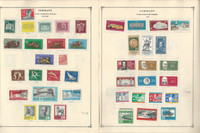 Germany DDR Stamp Collection on 80 Scott International Pages 1959-78, DKZ