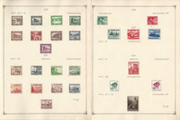 Germany World War II Era Stamp Collection on 26 Pages 1936-44, DKZ