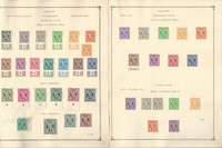 Germany Allied Occupations Stamp Collection on 11 Pages 1945-48, DKZ