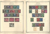 Germany Soviet Zone Stamp Collection on 4 Scott Specialty Pages, DKZ