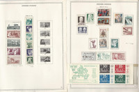 Sweden Stamp Collection on 18 Minkus Specialty Pages, 1973-77 Mint NH, DKZ