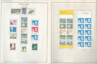 Sweden Stamp Collection on 12 Minkus Specialty Pages, 1979-82 Mint NH, DKZ