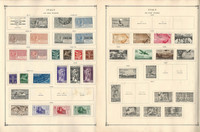 Italy Stamp Collection on 4 Scott International Pages, 1917-38 Airpost, DKZ