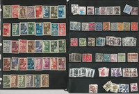 Worldwide Stamp Collection on 16 Pages, High Value Lot, DKZ