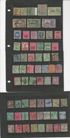 India & States Stamp Collection on 12 Pages, High Value Lot of Classics, DKZ