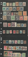 Russia Stamp Collection on 9 Pages, High Value Lot of Classics, DKZ