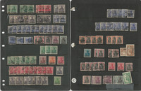 Saar Stamp Collection on 2 Pages, 2//56 Mint & Used Lot, Nice Cancels, DKZ