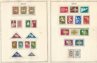 Hungary Stamp Collection on 24 Minkus Specialty Pages, 1958-62, JFZ