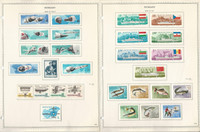 Hungary Stamp Collection on 17 Minkus Specialty Pages, 1966-69, JFZ