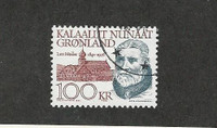 Greenland, Postage Stamp, #249 Used, 1991, JFZ