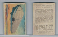 T28 Duke Cigarettes, Aeroplane Series, 1910, The Zeppelin Airship