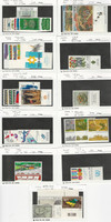 Israel, Postage Stamp, #705//920 With Tabs Most Mint NH, 1978-85, JFZ