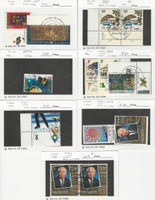 Israel, Postage Stamp, #1285//1329 With Tabs Used, 1996-98, JFZ