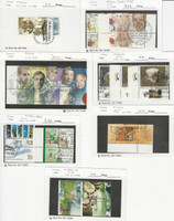 Israel, Postage Stamp, #1333//1374 With Tabs Used, 1998-99, JFZ