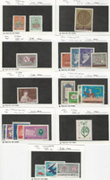 Middle East, Postage Stamp, #1319//1429 Mint Hinged, 1965-67, JFZ
