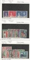 St. Vincent, Postage Stamp, #138-140, 156-166, 174-184 Used, 1937-52, JFZ