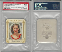 G14-15 Garbaty, Modern Beauty, 1934, #268 Helen Madison, PSA 9 Mint
