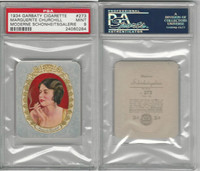 G14-15 Garbaty, Modern Beauty, 1934, #273 Marguerite Churchill, PSA 9 Mint
