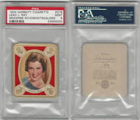 G14-15 Garbaty, Modern Beauty, 1934, #276 Leah v. Ray, PSA 9 Mint