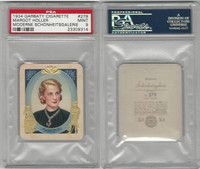 G14-15 Garbaty, Modern Beauty, 1934, #279 Margot Holler, PSA 9 Mint