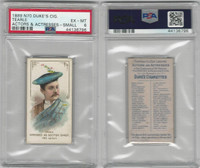 N70 Duke, Actors and Actresses, 1889, Tearle, Scotch Chief, PSA 6 EXMT