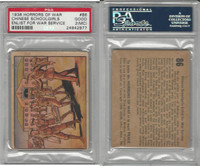 R69 Gum Inc, Horrors of War, 1938, #86 Chinese Schoolgirls Enlist, PSA 2 MC