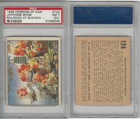 R69 Gum Inc, Horrors of War, 1938, #124 Japanese  Suchow, China, PSA 7 OC NM