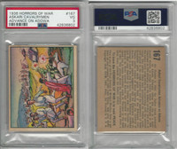 R69 Gum Inc, Horrors of War, 1938, #167 Askari Cavalrymen Adowa, PSA 3 VG